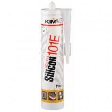 KIMTEC Silicon 101E,герметик  силиконовый  белый (310 мл.)