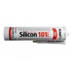 Ким-тек 101е / KIM TEC 101Е Silicon Acetat герметик силиконовый прозрачный (310 мл)