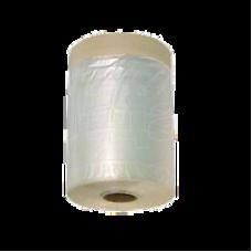 Пленка защитная строительная с клейкой лентой 550мм*33м