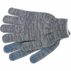 Перчатки ХБ серые 5 нитей