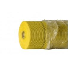 Сетка желтая фасадная 5*5