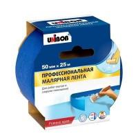скотч  малярный  Unibob  50 мм. x 25 м. Синяя (36 шт. в коробке)