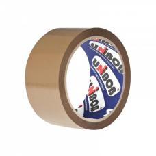 скотч  упаковочная UNIBOB 400, 48мм/66м, 40мкм, темная (36 шт. в коробке)