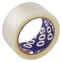 Клейкая лента упаковочная Unibob UNIBOB 600  прозрачная шир.50мм дл.66м 45мкр(36 шт. в кор.)