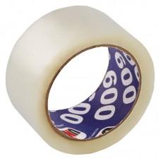 Клейкая лента,скотч упаковочный,прозрачный  50*66 UNIBOB 600 оптом в Москве и МО