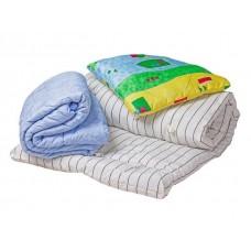 Спальный комплект для рабочих (Матрас,одеяло,подушка)