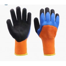 Зимние перчатки с латексным покрытием оптом в Москве