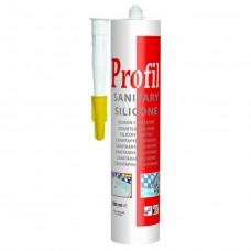 Герметик силиконовый Soudal Profil санитарный белый 280 мл